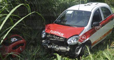 Accidente Taxi