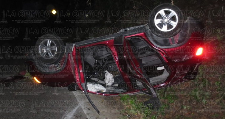 Camioneta accidente