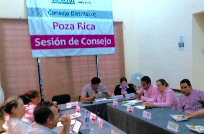 Sesionó el V consejo distrital del OPLE para comienzo de la jornada electoral.