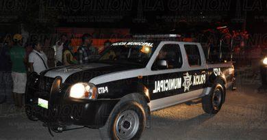 Policías-Tuxpan