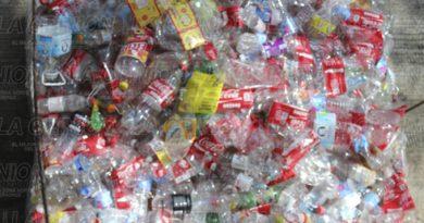 Reciclan envases PET