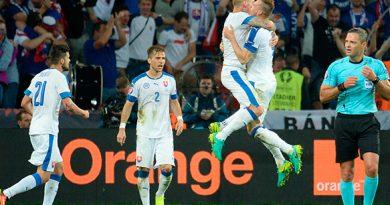 Selección Eslovaquia