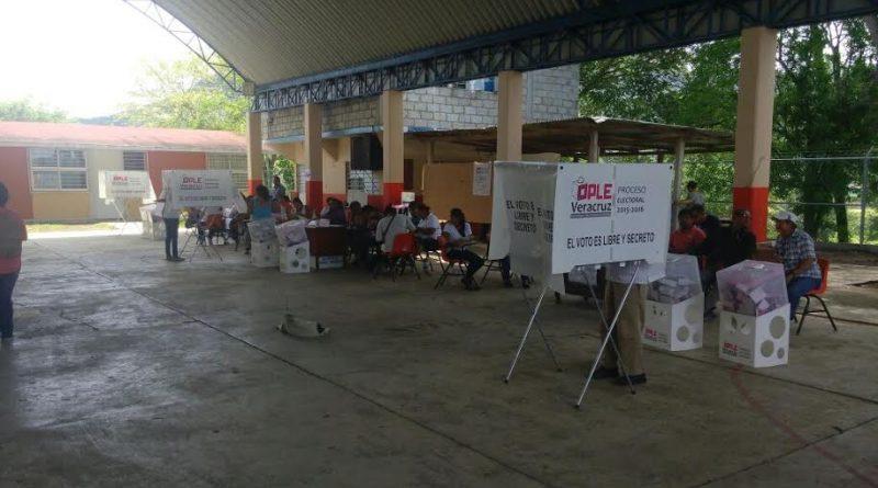 Tihuatlán, Ver.- Confirman que el reporte de la quema de urnas en Tihuatlán se trató solo de un rumor.