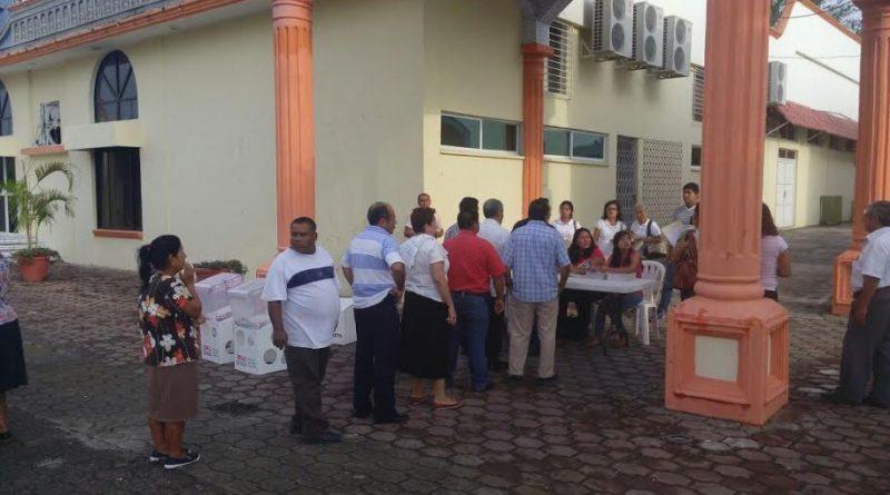 Tihuatlán, Ver.-Desde las 08:20 horas, fueron abiertas las casillas en Tihuatlán, hasta el momento no se reportan incidentes.