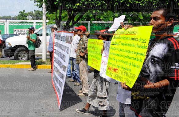 Protestas Pemex