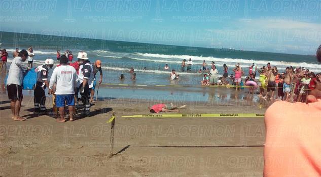 Dos personas ahogadas en playas de Tuxpan