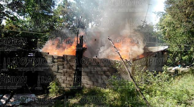 Incendio Hogar Tancoco Veracruz