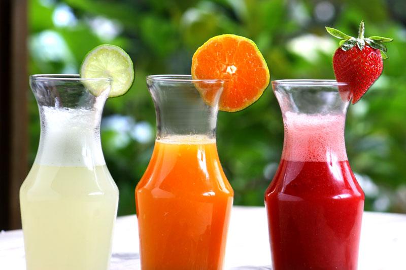 alimentos que engordan zumo
