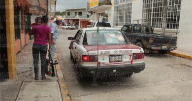 Taxis pasaje cobros Tihuatlán
