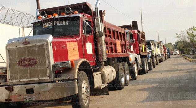 camiones transportistas