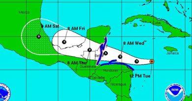 tormenta tropical Earl
