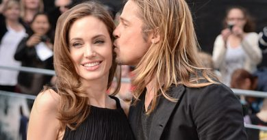 Angelina Jolie and Brad Pitt arriving for the world premiere of World War Z, at the Empire Leicester Square, London.