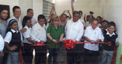 Invierten 400 mil pesos en comedor escolar