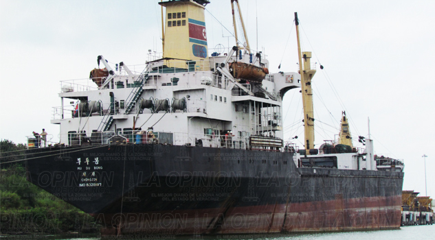 Si fecha para desmantelar el buque norcoreano