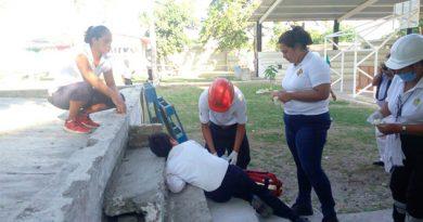 simulacro-evacuacion-sismo-ninos-lesionados