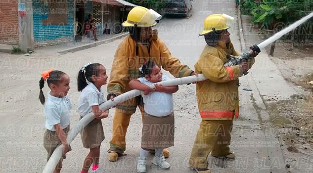 simulacro-incendio-escuela-papantla
