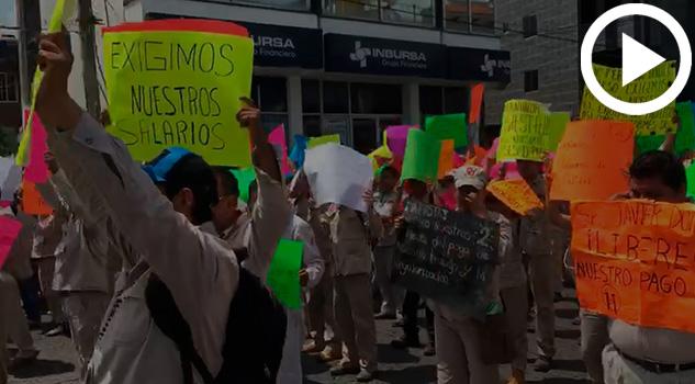 trabajadores-marcha-secretaria-de-salud