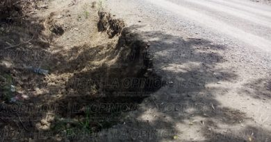 deslaves carretera Tamiahua-Tuxpan