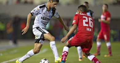 Action photo during the match Toluca vs Queretaro at Alberto Chivo Cordoba Stadium, Apertura 2016 Cup MX. -- Foto de accion durante el Partido Toluca vs Queretaro en el Estadio Alberto Chivo Cordoba, Partido Correspondiente a las Semifinales del Torneo Apertura 2016 Copa MX, en la foto: Jaime Gonzalez  ---25/10/2016/MEXSPORT/ Javier Ramirez.