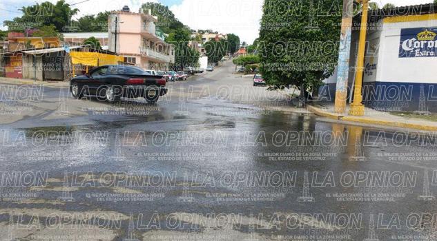 Fuga de agua y drenaje en tihuatl n la opini n de poza rica for Fugas de agua madrid