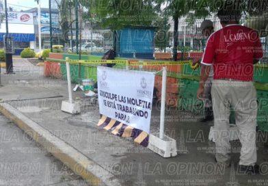 Reparan fugas de agua en Poza Rica