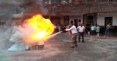 extintores-curso-primaria-papantla