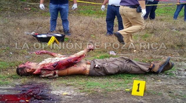 Hallan cadáver en Tihuatlán-Álam