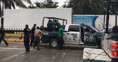 5 detenidos en el desalojo de manifestantes
