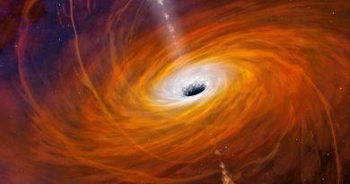Agujero negro la estrella más brillante de la historia