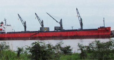 Arriba barcos de Bélgica y Cuba con toneladas de fertilizantes