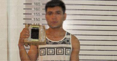 Capturan a presunto delincuente