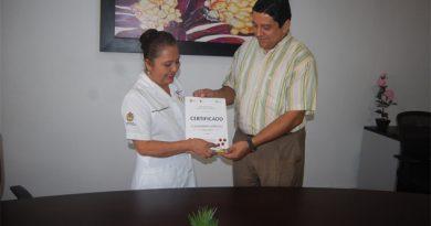 Certifica la Secretaría de Salud a Cerro Azul