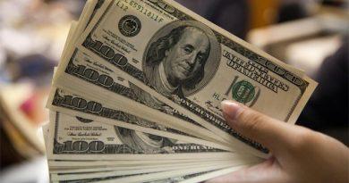 Dólar a una pizca de llegar a los 21 pesos