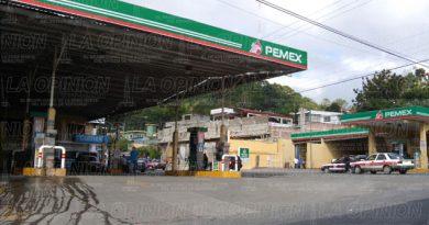Desabasto de gasolina en Papantla