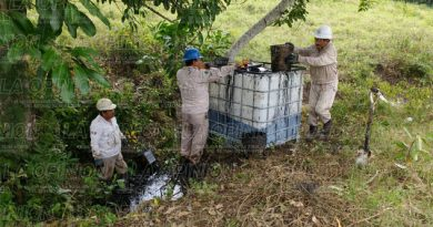 Enésima fuga de hidrocarburo en Xocotla