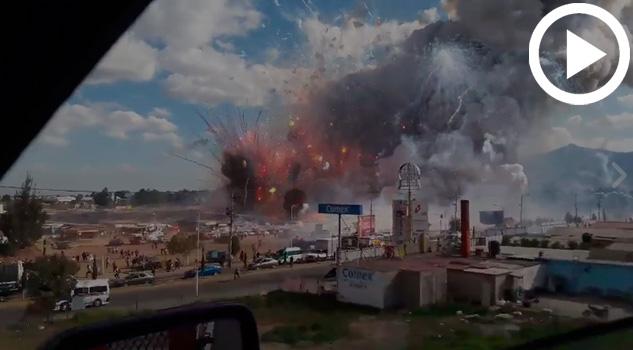 Explosión Mercado San Pablito