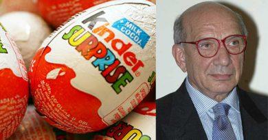 Muere el creador de huevo Kinder Sorpresa