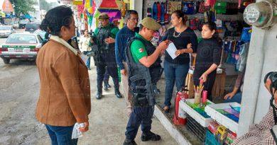 Operativo Mercado Tihuatlán