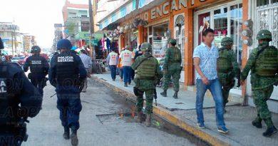 Operativo Protección Civil Policía Ejército