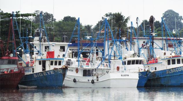 Pescadores, paralizados