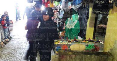 Previenen tragedia en mercados de Poza Rica