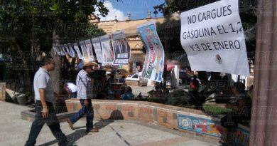 Se pronuncian ciudadanos contra el gasolinazo