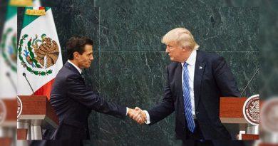 Advierte Trump que si México no paga el muro se cancelará la reunión