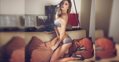 Arremeten contra la modelo Belén Rodríguez