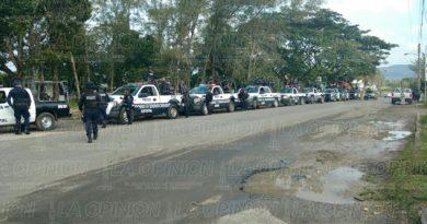 Arriban a zona norte fuerzas de seguridad