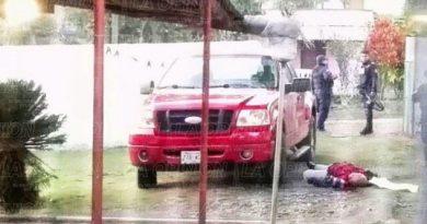 Asesinan a transportista