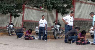 Atropellan a una niña afuera del Cbtis 78