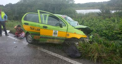Brutal Choque Taxi