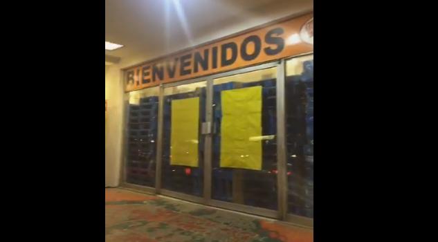 Cierran negocios en Poza Rica para evitar vandalismo