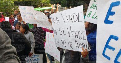 Colonos de la 10 de Abril demandan desalojo de invasores